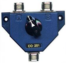 Jetstream CO201- 2 Position Coax Antenna Switch w/SO-239