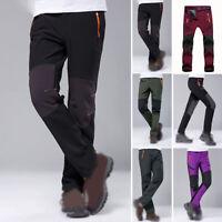 Men/Women Winter Ski Pants Waterproof Windproof Warm Padded Trousers Outdoor