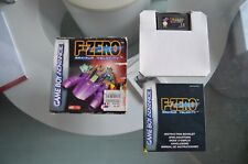 F-Zero Maximum Velocity complet sur Nintendo GameBoy Advance GBA - FR