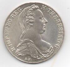 Österreich, Maria Theresia Thaler 1780 (Neu) 833er Silber,28,06 g, vorzüglich.