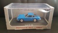 Porsche 901 1964 Blue  Car Model 1:43 Scale Atlas editions