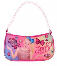 "Jojo Siwa Shoulder Bag With Beaded Strap 9""x5""x2"" Perfect 🌈🦄🎀"