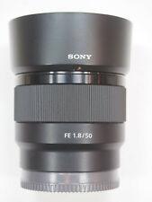 Sony SEL50F1.8 50mm f/1.8 Lens for full frame FE-Mount Full Frame