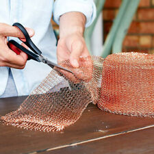 KQ_ Pure Copper Soffit Mesh. Rodent, Bird, Insect control. 10cm wide.Various