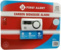 First Alert CO1210CP1 Carbon Monoxide Alarm10 Year Alarm with Temperature