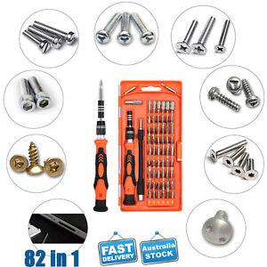 82 IN 1 Repair Tool Kit Precision Small Screwdriver Set 56 Bits Magnetic Driver