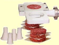 Burger Press | Commercial Patty Maker Attachment to Meat Grinder