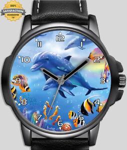Dolphin Underwater World Unique Wrist Watch FAST UK