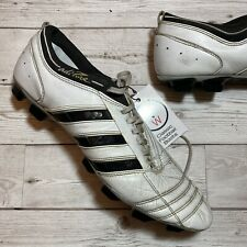 Adidas Adipure ii FG UK 12.5 White/Black Mens Football Boots Very Rare