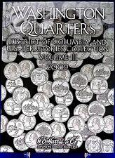HE Harris Washington State And US Territories Quarters  2009 Coin Folder Vol #3