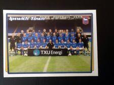 Merlin Football Sticker #184 2001-02 Ipswich Town Team Picture Mint Condition