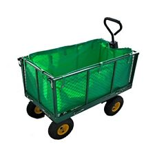 Garden Trolley Cart Large Load Capacity Heavy Duty All-Terrain Ideal for Camping
