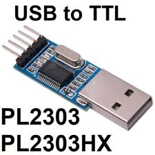 USB Port to RS232 TTL PL2303HX Converter Module Arduino Raspberry Pi Atmega UK