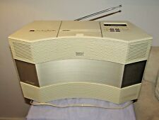 BOSE ACOUSTIC WAVE MUSIC SYSTEM CD 3000 AM/FM CD PLAYER WHITE RADIO