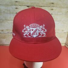 GRAND MARNIER Liquor Snapback Baseball Cap Red Lion Crest ONE SIZE Adjustable