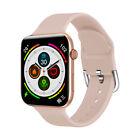 Bluetooth Smartwatch Sport Fitness Tracker Reloj impermeable Kumi KU1 Rosa Mujer