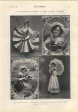 1905 Miss Gertie Miller Rosalie Spring Chicken Miss Elaine Inescort Doublure