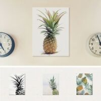 Canvas Print Pineapple Unframed Oil Painting Poster Wall Picture Home Room Decor
