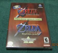 GC - Zelda: Ocarina of Time + Master Quest ~ Brand New Factory Sealed Games ~