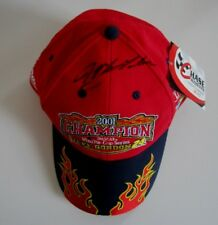 NEW JEFF GORDON 2001 SIGNED #24 WINSTON CUP SERIES AND 4 TIME CHAMPIONSHIP HAT