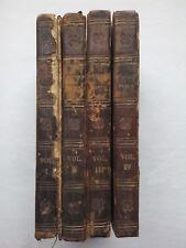 JOHN DRYDEN.THE WORKS OF VIRGIL.4 VOL SET,STEEL PLATES.BIOGRAPHY.1807,FINE BIND