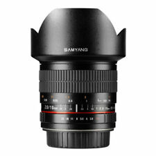Samyang 10mm F2.8 ED AS NCS CS Lens Canon EF-M Mount Fitting
