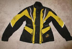 Buffalo Blytz 2 Yellow/Black Motorcycle Jacket XXS