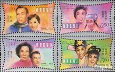Hongkong 985-988 Blok van vier postfris 2001 Filmstars uit Hongkong