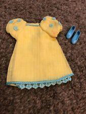 Vintage Barbie Francie Yellow Bit #1232 Mattel