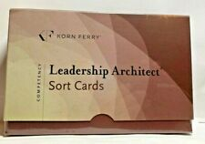 New Leadership Architect Sort Cards Korn/Ferry International Competency Cards