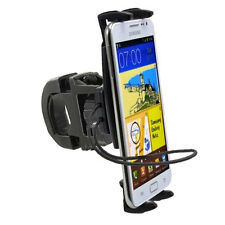 Apple iPhone 6s Plus 6 SE LG G5 Secure Strap Bicycle Motorcycle Handlebar Mount