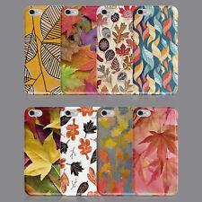 Hojas Otoño Árbol temporada de otoño teléfono caso para IPHONE 8 XS XR SAMSUNG S8 S9 Plus