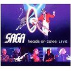 """SAGA """"HEADS OR TALES: LIVE"""" CD NEU"""