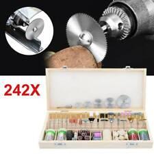 242 tlg Drehwerkzeug Kit Schleifmaschine Polierset Drill Zubehör Schleifer NN 06