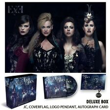EXIT EDEN AUTOGRAPHED BOX SET Rhapsodies In Black cd flag amanda sommerville