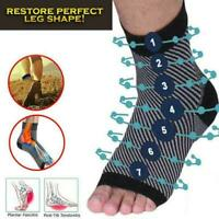 Dr Sock Soothers Anti-Fatigue Compression Foot Sleeve Sock Brace Support Be G1Q3