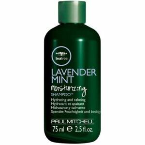Paul Mitchell Tea Tree Lavender Mint Moisturising Shampoo Travel Size 75ml