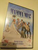 dvd  MAMMA MIA CON MERYL  STREEP  ( precintado nuevo )