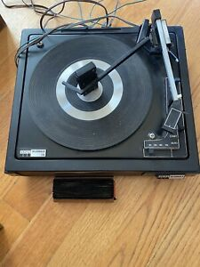 Vintage - BSR McDonald 310 Turntable/Record Player it WORKS!!