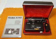 Rollei Pocketkamera a110 pocketfilm objectif Tessar 1:2,8/23 mm, nouvelle batterie!