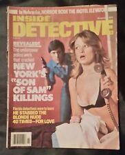 INSIDE DETECTIVE - VOL. 55 NUMBER 11 -NOVEMBER 1977