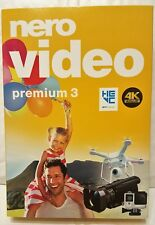 Nero Video Premium 3 2018 Audio/Video Authoring software CD-ROM Windows 10,8,8.1