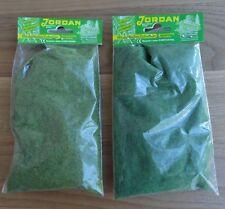 Jordan Grasfaser Streu-Set 2-farbig 100 g H0 TT N Z für Modellbahn Anlage etc.