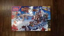 Mega Bloks Vorgan Ice Fang Ship 9879... New Sealed 190 Pieces