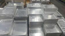 "6 Aluminum Baking Cookie Sheet Baking Tray Pan Crestware 9"" X 13"" Inches Quarter"