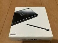 Nintendo DS Lite console Jet Black Color Console with BOX and Manual