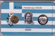 2 Euro Griechenland Sondersatz Athen 2004 Olympische Spiele