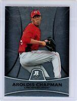 2010 Bowman Platinum Prospects #PP10 AROLDIS CHAPMAN RC Rookie (Reds) NM