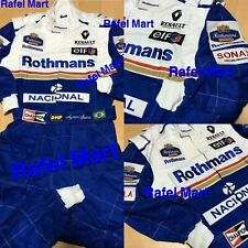 F1 Ayrton Senna 1994 Embroidered Patches Suit Go Kart/Karting Race/Racing Suit