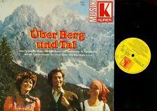 LP--ÜBER BERG UND TAL--FENNEBERG MOSER--KASERMANDLS--BERGLANDECHO--ORF BIG BAND-